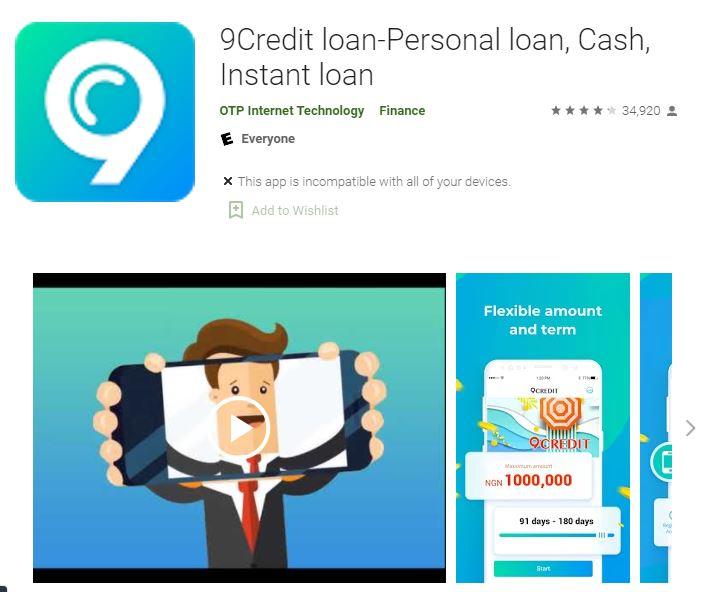 9Credit Loan