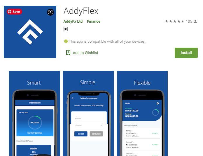 Customer Care: AddyFlex App - Login and Register (By ADDYfx)