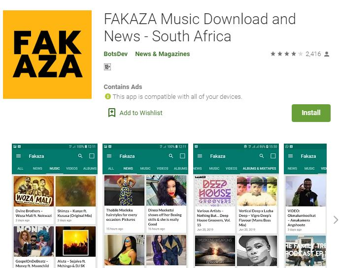 Upload Songs: Fakaza.com – Login and Register (Free Access)