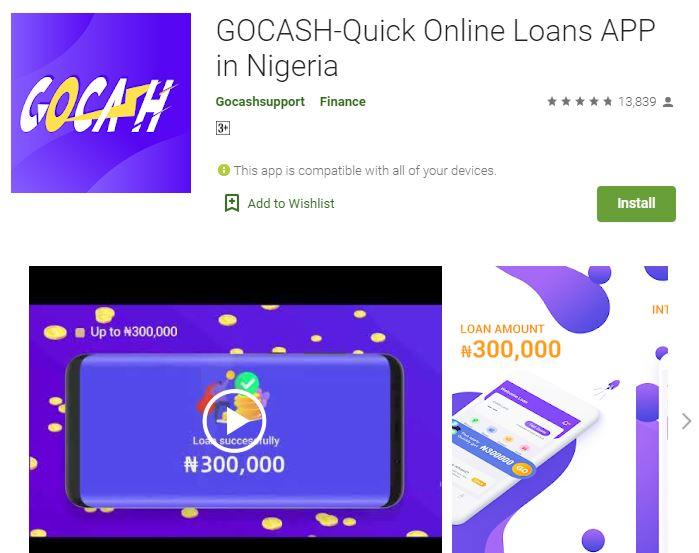 Customer Care: GOCASH Loan App – Phone Number – Login and Register