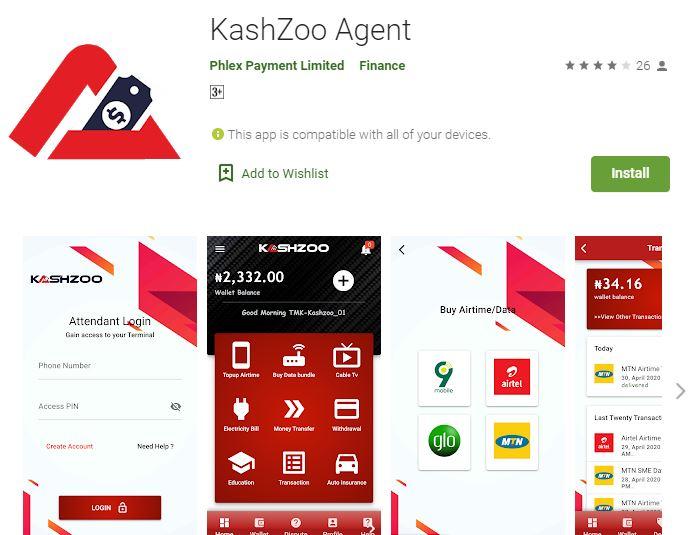 www.KashZoo.com - KashZoo Agent Website - Login and Register