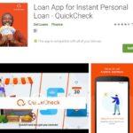Customer Care: QuickCheck Loan App - Login and Register (Website)