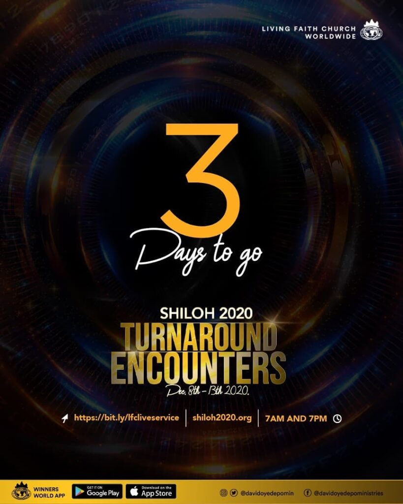 Live Streaming: Shiloh 2020 - Turnaround Encounters (December 8th - 13th, 2020)