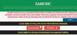 Upload Songs: ZaMusic.Org - Login and Register (Promote Free)