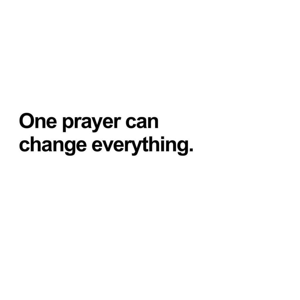 Prophetic Prayer Lines